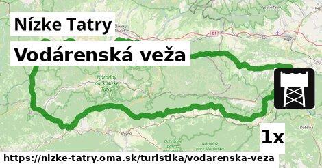 ilustračný obrázok k Vodárenská veža, Nízke Tatry