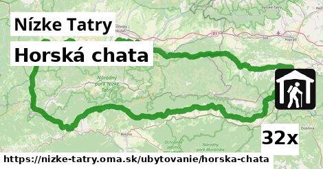 ilustračný obrázok k Horská chata, Nízke Tatry