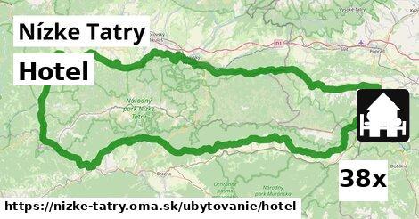hotel v Nízke Tatry