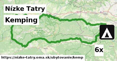 ilustračný obrázok k Kemping, Nízke Tatry