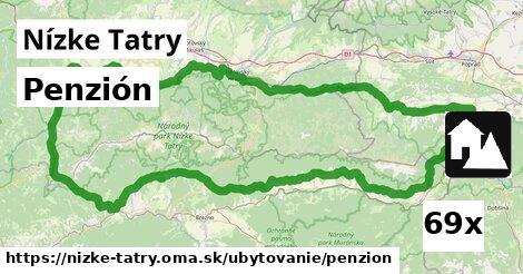 ilustračný obrázok k Penzión, Nízke Tatry