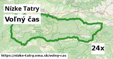 voľný čas v Nízke Tatry