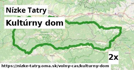 kultúrny dom v Nízke Tatry