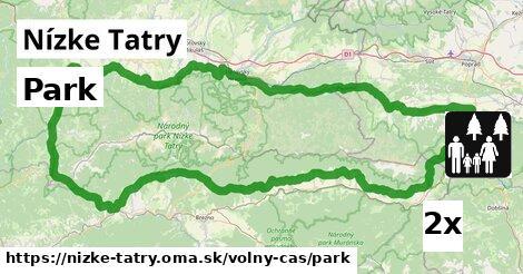 park v Nízke Tatry