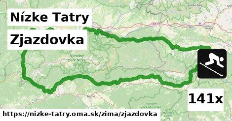 ilustračný obrázok k Zjazdovka, Nízke Tatry