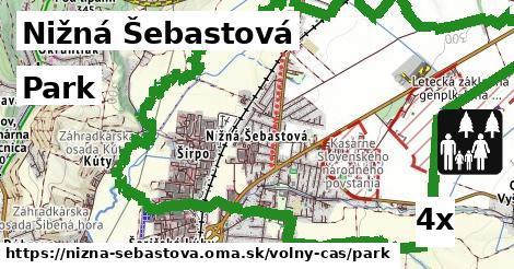 park v Nižná Šebastová