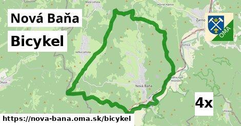 bicykel v Nová Baňa