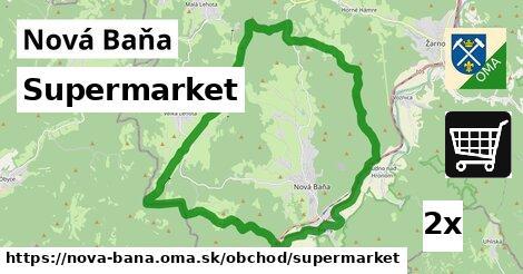 Supermarket, Nová Baňa