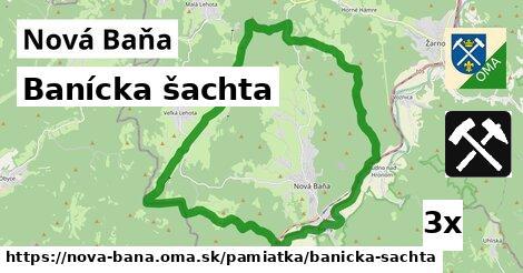 Banícka šachta, Nová Baňa