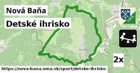 Detské ihrisko, Nová Baňa