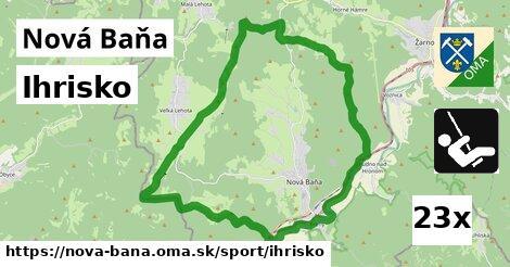 ihrisko v Nová Baňa