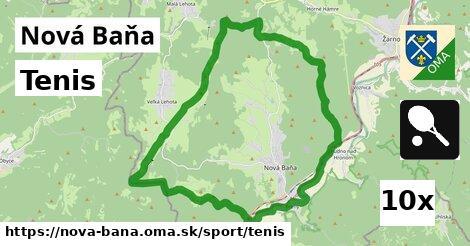 tenis v Nová Baňa