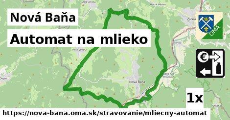 Automat na mlieko, Nová Baňa