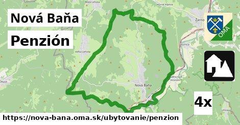 Penzión, Nová Baňa