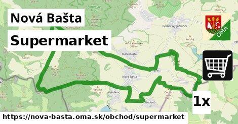 supermarket v Nová Bašta