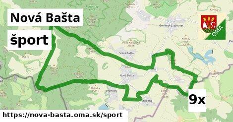 šport v Nová Bašta
