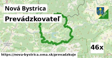 prevádzkovateľ v Nová Bystrica