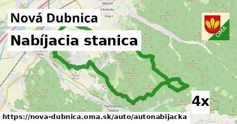 nabíjacia stanica v Nová Dubnica
