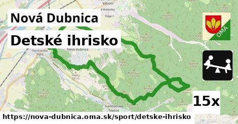 detské ihrisko v Nová Dubnica