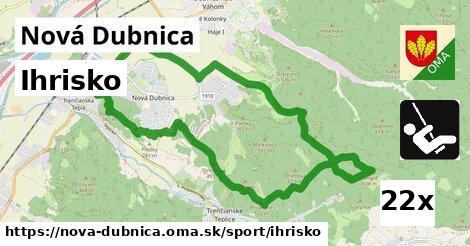 ihrisko v Nová Dubnica