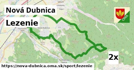 lezenie v Nová Dubnica