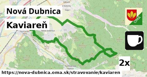 kaviareň v Nová Dubnica