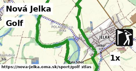 golf v Nová Jelka