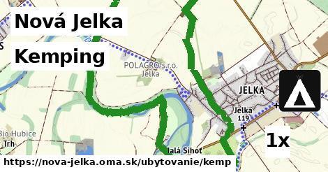 kemping v Nová Jelka