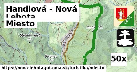miesto v Handlová - Nová Lehota