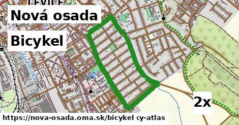bicykel v Nová osada