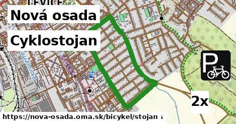 cyklostojan v Nová osada