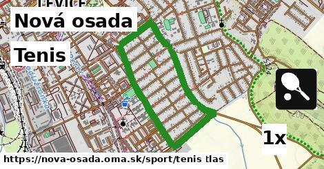 tenis v Nová osada