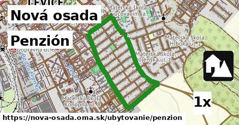 penzión v Nová osada