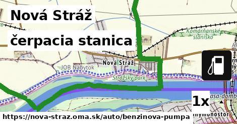 čerpacia stanica v Nová Stráž