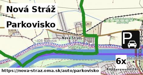 parkovisko v Nová Stráž