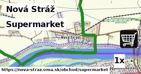 supermarket v Nová Stráž