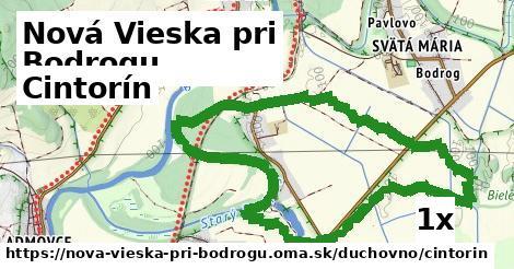 ilustračný obrázok k Cintorín, Nová Vieska pri Bodrogu