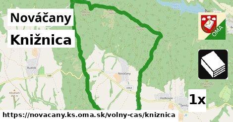 knižnica v Nováčany, okres KS