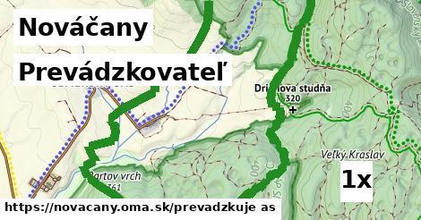 prevádzkovateľ v Nováčany