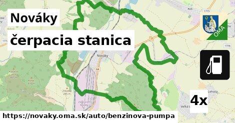 ilustračný obrázok k čerpacia stanica, Nováky