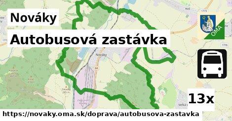 ilustračný obrázok k Autobusová zastávka, Nováky