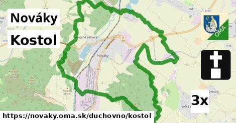 ilustračný obrázok k Kostol, Nováky