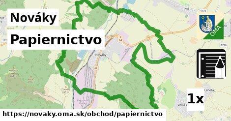 ilustračný obrázok k Papiernictvo, Nováky