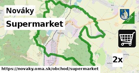 ilustračný obrázok k Supermarket, Nováky