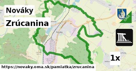 ilustračný obrázok k Zrúcanina, Nováky