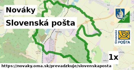 ilustračný obrázok k Slovenská pošta, Nováky