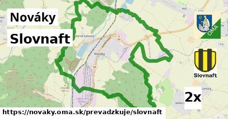 ilustračný obrázok k Slovnaft, Nováky
