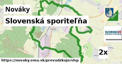ilustračný obrázok k Slovenská sporiteľňa, Nováky
