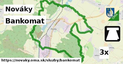 ilustračný obrázok k Bankomat, Nováky