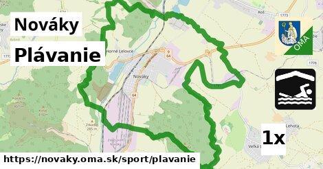 ilustračný obrázok k Plávanie, Nováky